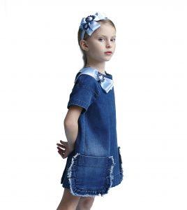rochie jeans model
