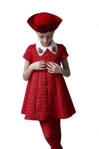 rochie rosie mimisol model